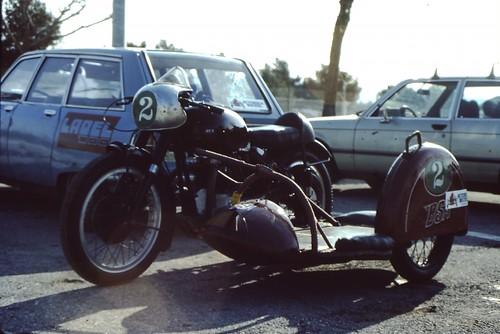 BSA Castellet 84 by motosanglaises