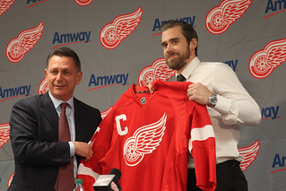 Red Wings captain Henrik Zetterberg will look to pull off an upset of epic proportions. (Tom Gromak/Creative Commons)