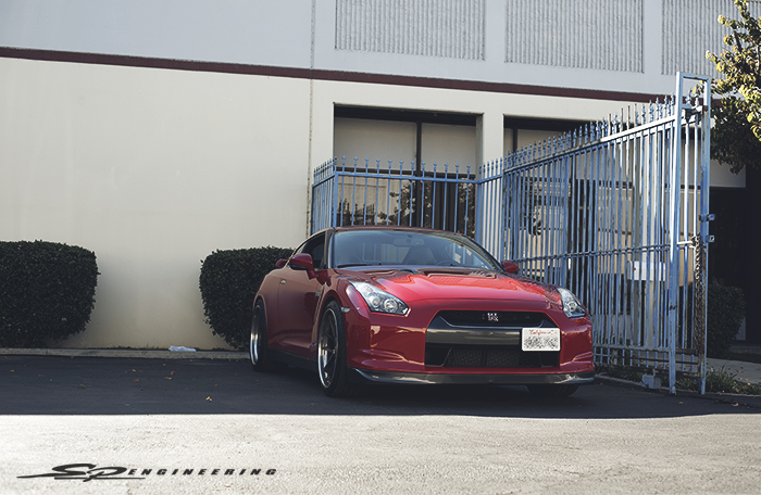 Just In – '09 GT-R comes in for an 18K Mile Service