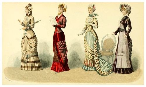 014- The history of fashion in France…1882-Augustin Challamel
