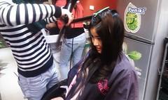 Thực hành sấy tóc lá bám cúp Hair salon Korigami 0915804875 (www.korigami (3)