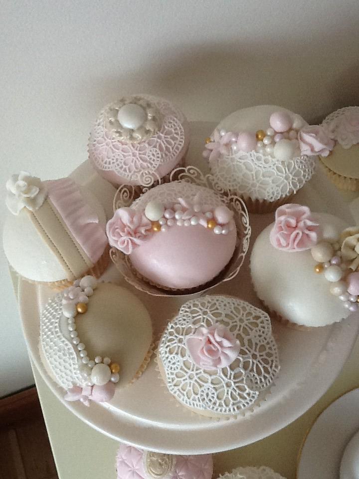 Mini Wedding Cake Sugar Cookies