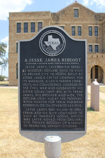 Home Health Aide >> A Jesse James Hideout, Archer City, Texas Historical Marker | Flickr - Photo Sharing!