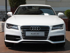 audi a5(0.0), automobile(1.0), automotive exterior(1.0), audi(1.0), executive car(1.0), audi a7(1.0), wheel(1.0), vehicle(1.0), automotive design(1.0), grille(1.0), audi sportback concept(1.0), bumper(1.0), land vehicle(1.0), luxury vehicle(1.0), vehicle registration plate(1.0),