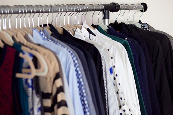 petite clothing on regular hangers