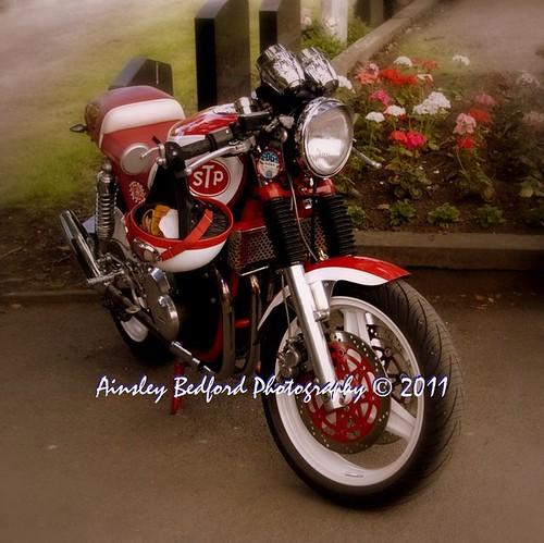 Norton style, Kawasaki cafe racer
