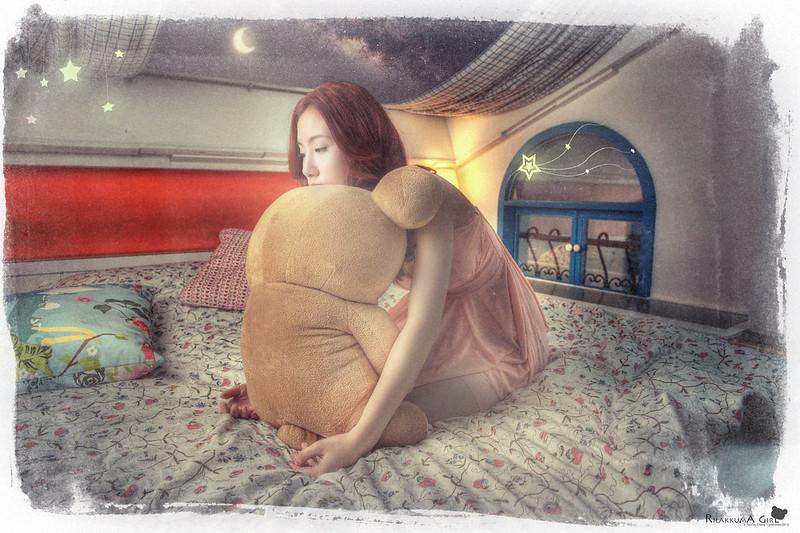 [portrait] rilakkuma girl