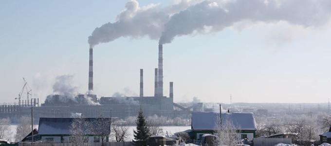 俄羅斯境內的火力發電廠,Gunnar Futsaeter-Cherepetskaya攝,聯合國環境規劃署提供
