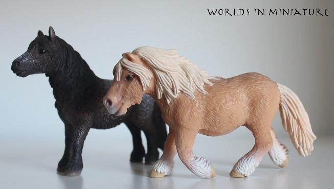 Shetland gelding and mare | WorldsInMiniature | Flickr