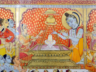Image of Mehrangarh near Jodhpur. religion shiva lingam inde jodhpur meherangarh linga hindouisme dalbera