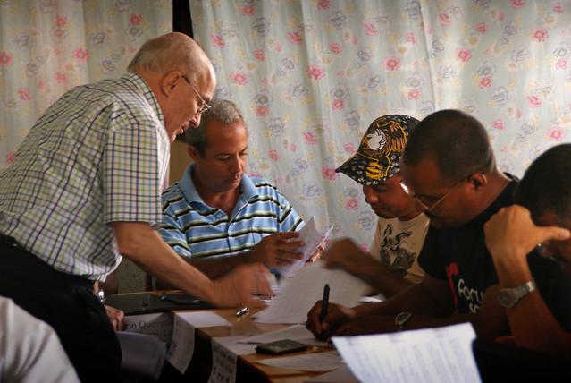 Jose Antonio impartiendo un curso de Emprendizaje en Cuba
