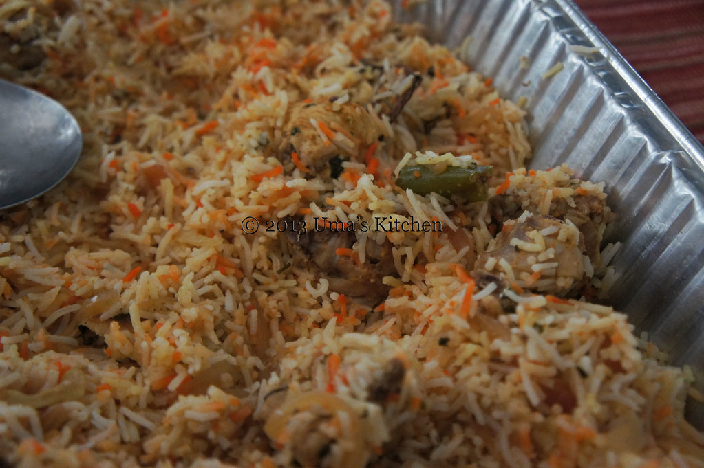 hyderabadi chicken dum biryani uma 39 s kitchen
