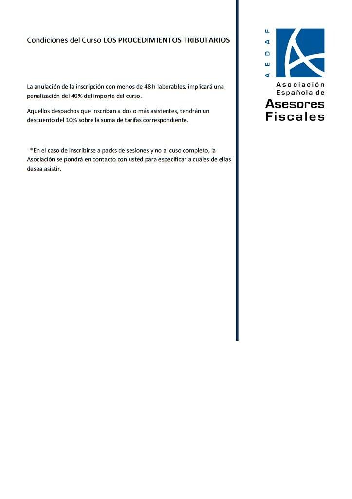 Jornada de Procedimientos Tributarios en el Colegio de Abogados de Vizcaya