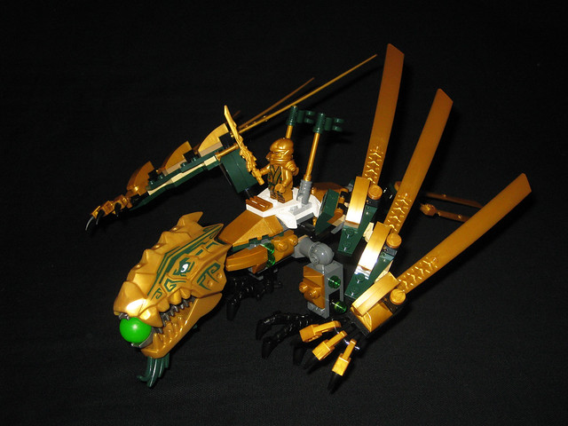 Lego ninjago 70503 the golden dragon review brickset lego set guide and database - Ninjago dragon d or ...