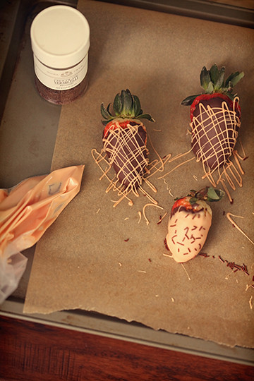 Chocolate Covered Strawberries w