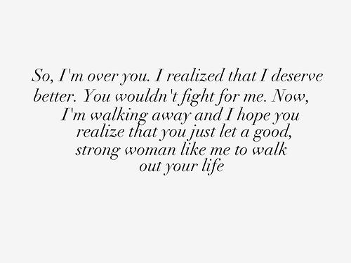 #lovequotes #valentine So, I'm Over You.....