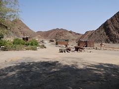 Namibian desert settlement