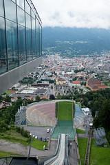 Die Bergisel-Schanze in Innsbruck