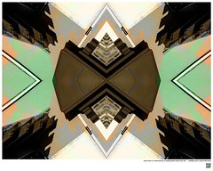 Modern Mandala Title:  Lally-Cooler Is a Real Success or Building Detail  Studio City VIII  #BartRoss ©2016  #studiocity #mirrored #artists_magazine #abstractphotography  #artprints #sharingart #Curator #LAart #artistic_share #surreal42  #abstra