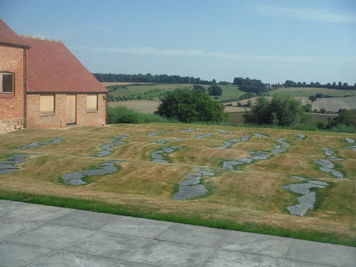 Brotherlines, Richard Long, 2011, Windmill Hill Archive, Waddesdon Estate
