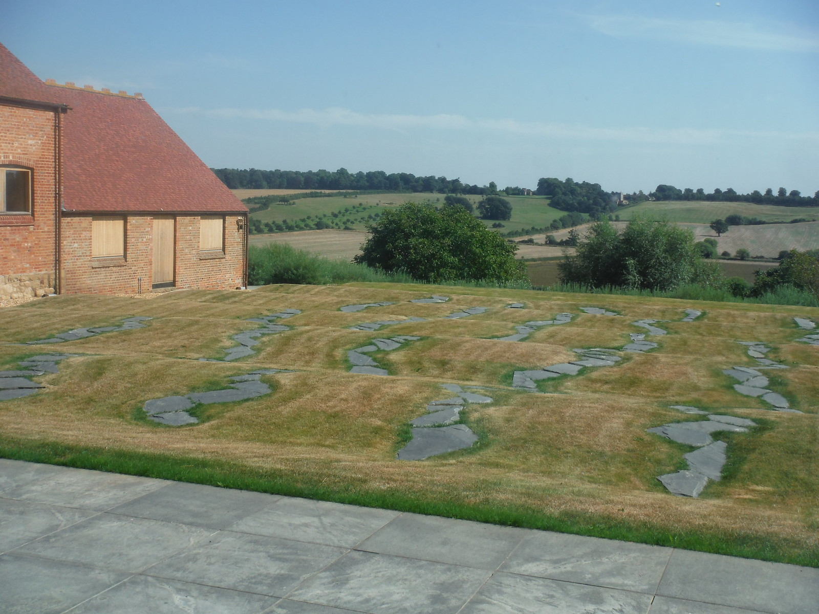 Brotherlines, Richard Long, 2011, Windmill Hill Archive, Waddesdon Estate SWC 192 Haddenham to Aylesbury (via Waddesdon)