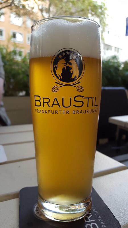 BrauStil brewery in Frankfurt