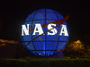 NASA logo sphere