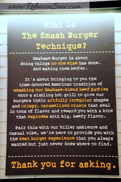 Omakase burger singapore - rebecca saw blog-010