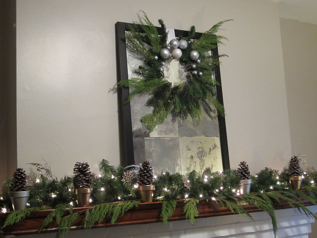 Greenery Holiday Wreath