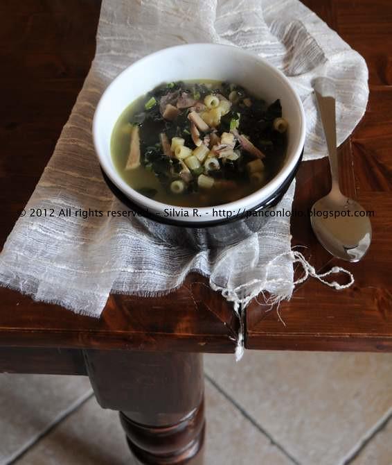 minestra con lampredotto e cavolo nero 006