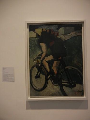 DSCN2877 _ The Cyclist (Il ciclista), Mario Sironi, 1916, Collezione Peggy Guggenheim