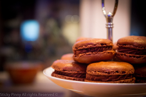 Chocolate Chestnut Macarons 2