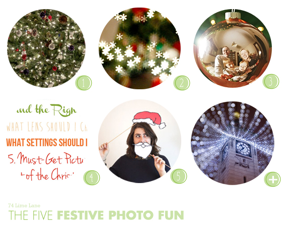 {the five} festive photo fun