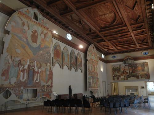 DSCN3876 _ Allegoria di Sant'Agostino come Maestro dell'Ordine (fascimile del disegno a tempera su carta), Girolamo Domenichini