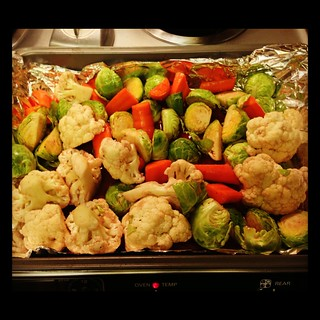 Red Wine Roasted Brussels Sprouts (Vegan Holiday Kitchen by Nava Atlas)
