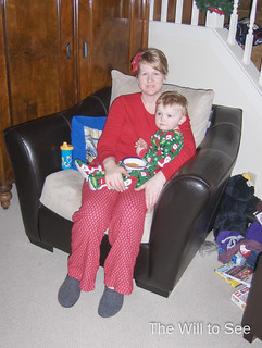 Will & Mommy Christmas