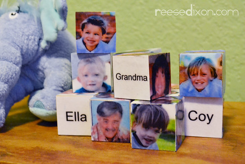 Loved One Wooden Blocks