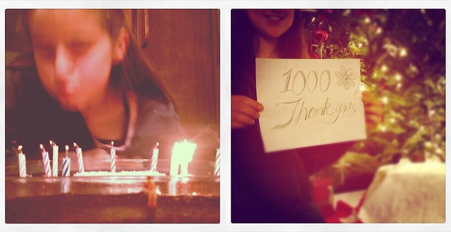 1000 Thank Yous for Becoming the Gift