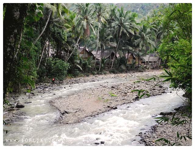 sungai kampung baduy