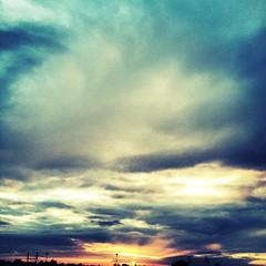 Clouds,Skies,rains & Evenings