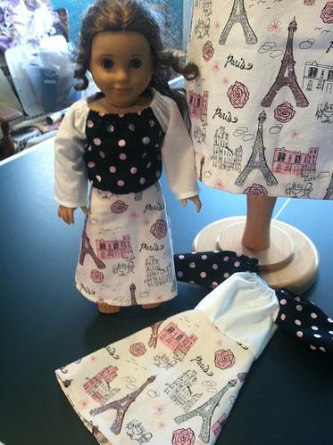 paris dress doll style