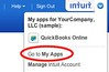 go to my apps to cancel quickbooks online to create a new company file
