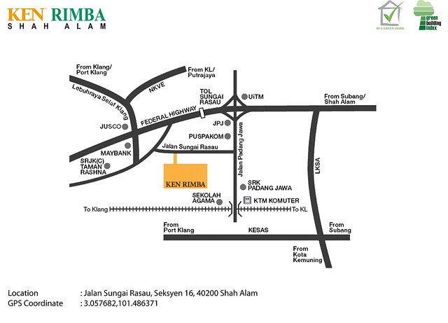 Location Map - Ken Rimba Township