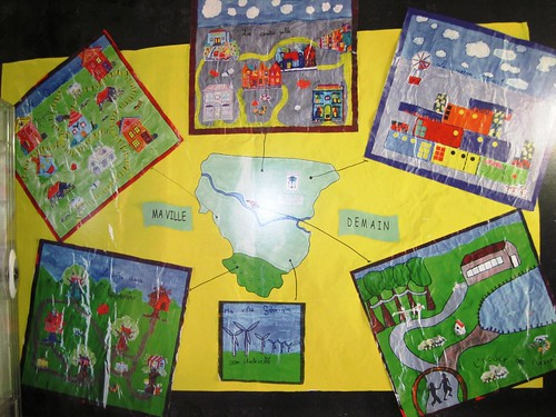 Ma Ville Demain expressed by kids (c2012 FK Benfield)