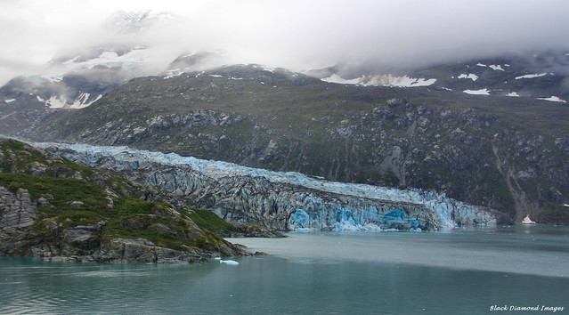 Lamplugh Glacier, Glacier Bay, Alaska from the Zuiderdam, Alaska - 12th Sept 2012