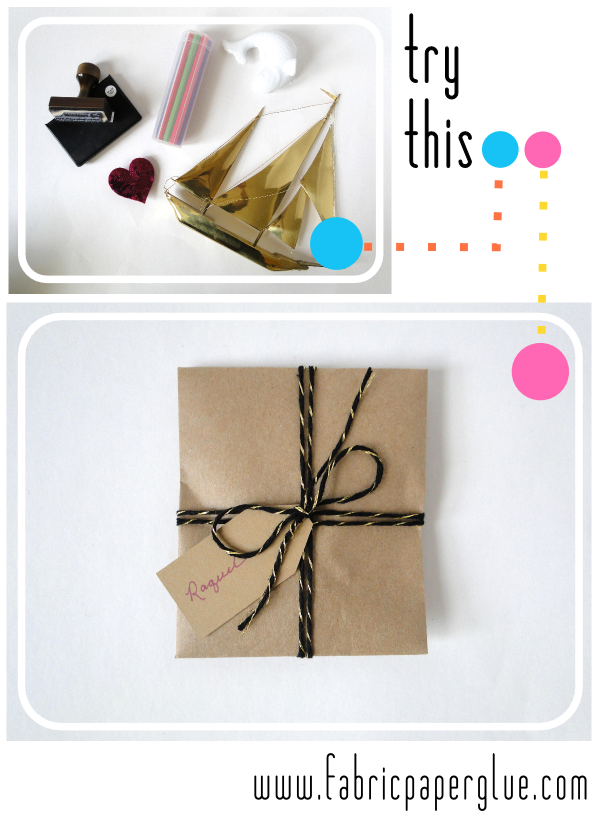 DIY Gift Wrap Envelope Tutorial