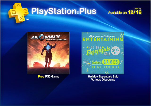 PlayStation Store Update 12-