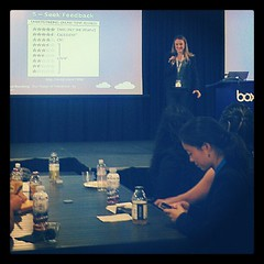 Box director of engineering @kimber_lockhart was founder of a startup acquired by Box in 2009. #boxggd