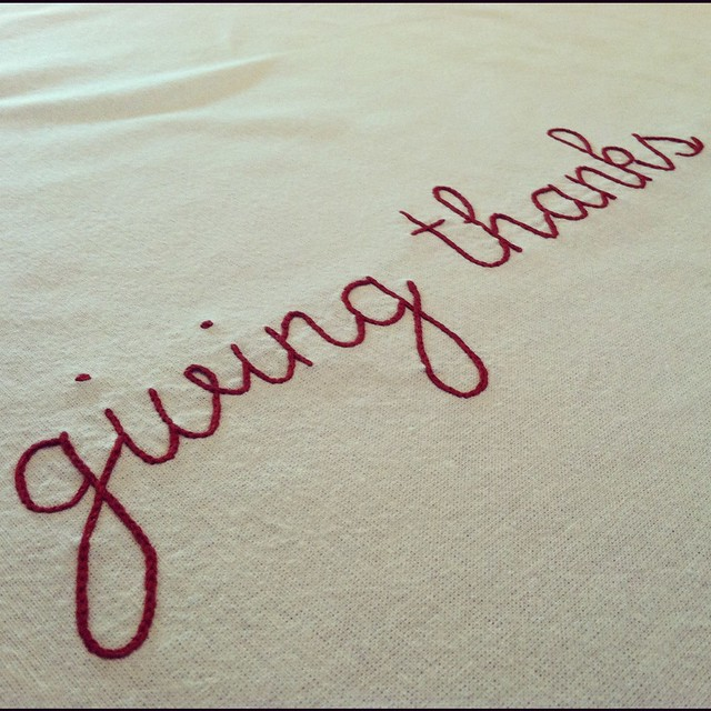 Giving Thanks from Flickr via Wylio