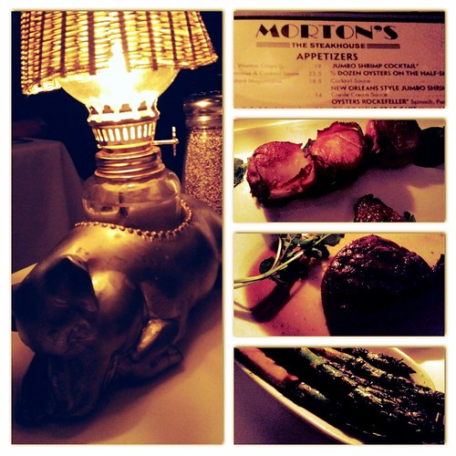 Dining Out: Morton's Steakhouse